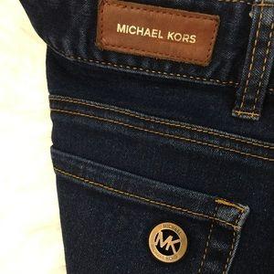 Women's Michael Kors Bootcut Dark Blue Jeans size8